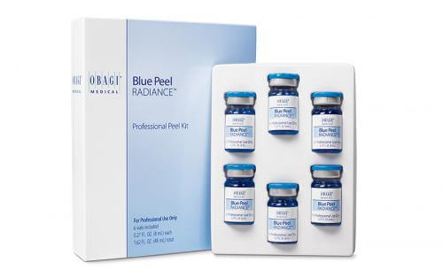 6 vials of Obagi Peel Radiance with packaging