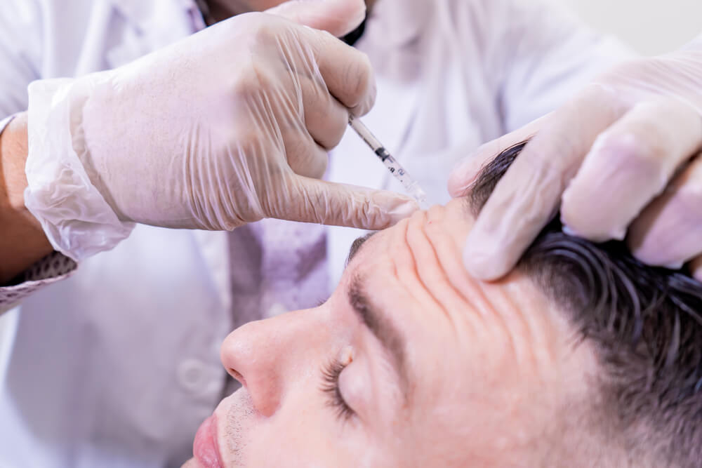 Men's Anti-Wrinkle Injections