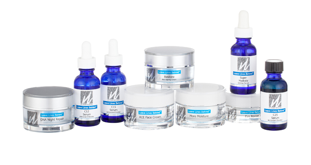 image of dr weber skincare products