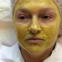 Facial peeling using Mask Professional